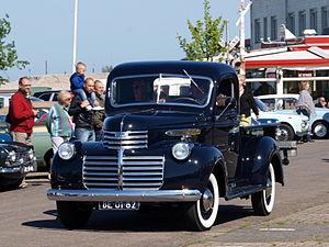 Chevrolet AK Series - Image: 1941 GMC Model 9314 pic 1