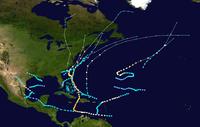 1954 Atlantic hurricane season summary map.png
