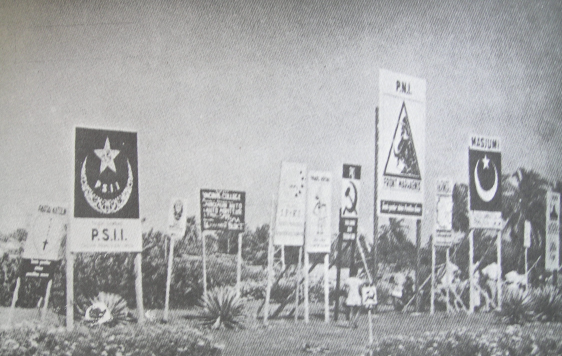 1955 Indonesian Election Posters