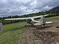 1956 Cessna L-19 Franconia Airport NH Route 116 Franconia NH May 2021 rear.jpg