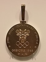 1968 Winter Olympics gold medal.jpg