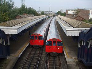 Watford DC line - The line is also shared with London Underground