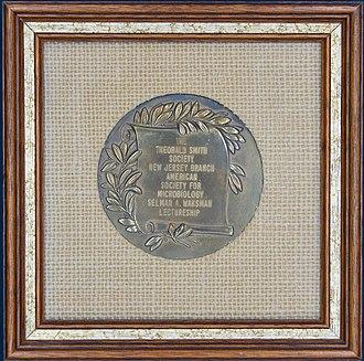 Selman A. Waksman Award in Microbiology - 1977 Selman A. Waxman Award Medal - Front View