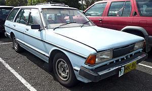 Datsun Bluebird (910) - Image: 1982 Datsun Bluebird (P910) GX station wagon (2009 10 29) 01