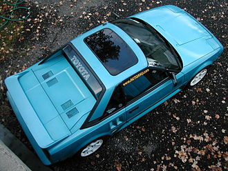 Toyota MR2 - 1986 MR2 in Light Blue Metallic
