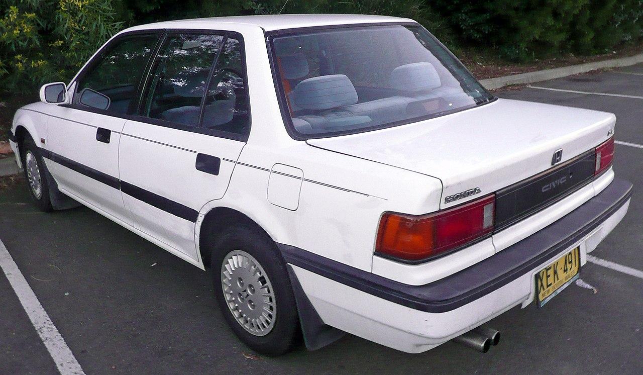 File:1987-1989 Honda Civic GL sedan 02.jpg - Wikimedia Commons