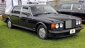 Bentley Brooklands - Image: 1995 Bentley Brooklands LWB, f L (Lime Rock)