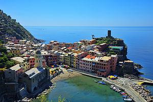 Cinque Terre - Image: 1 vernazza 2012
