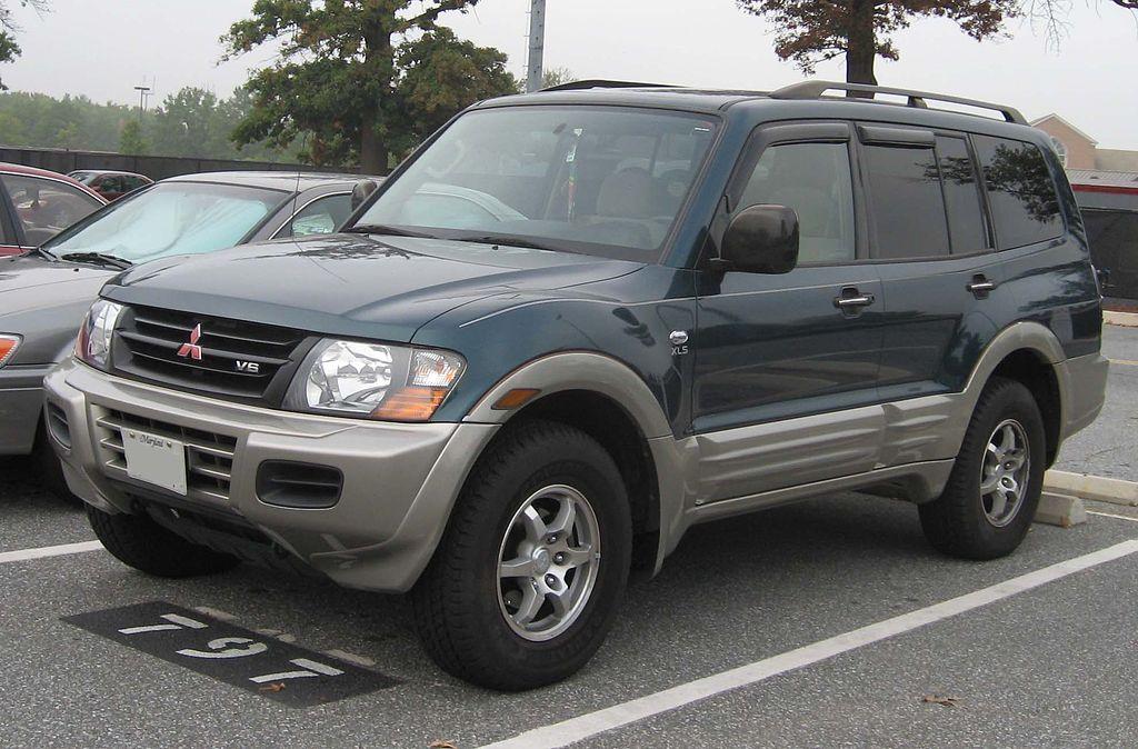 File:2001-02 Mitsubishi Montero Limited.jpg - Wikimedia Commons