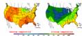 2002-09-16 Color Max-min Temperature Map NOAA.png