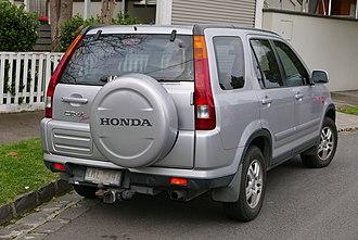 Honda CR-V - Pre-facelift Honda CR-V Sport (Australia)