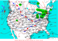 2004-01-13 Surface Weather Map NOAA.png