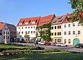 20040904580DR Dohna Markt mit Ratskeller und Postdistanzsäule.jpg