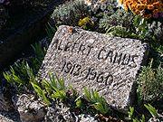 Albert Camus' gravestone
