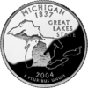 Michigan quarter