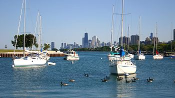 English: Montrose Harbor, Chicago, IL, USA