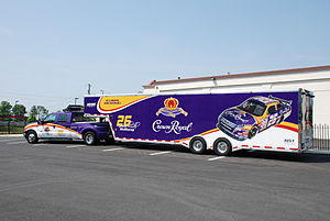 Crown Royal - Crown Royal sponsored hauler of Jamie McMurray's NASCAR stock car