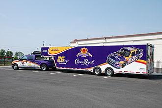 Crown Royal - Crown Royal-sponsored hauler of Jamie McMurray's NASCAR stock car
