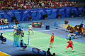 2008 Summer Olympics Badminton – Women's doubles final.jpg