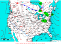 2009-01-21 Surface Weather Map NOAA.png