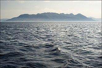 Methana Volcano - Panoramic view of Methana peninsula.