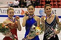2009 Skate America Ladies medal ceremony.jpg