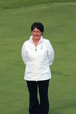 Alison Nicholas - Nicholas at the official announcement of the 2009 Solheim Cup team