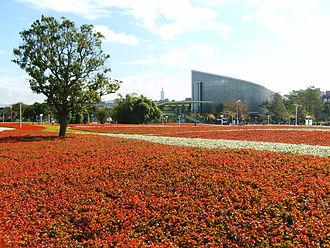 Taipei International Flora Exposition - Sea of flowers in Taipei Flora Expo.