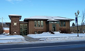 National Register of Historic Places listings in Fillmore County, Minnesota - Image: 2011 0115 Chatfield PL