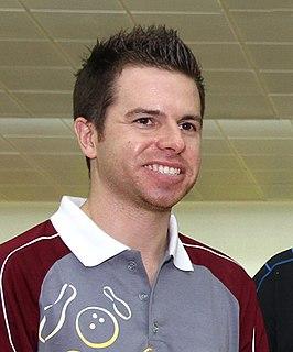 Mike Fagan American professional bowler