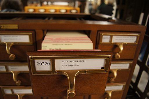 2011 Library of Congress USA 5466788868 card catalog