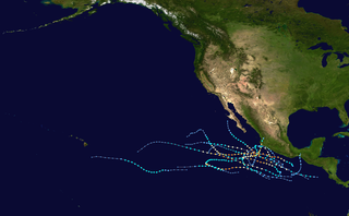 2011 Pacific hurricane season Period of formation of tropical cyclones in the Eastern Pacific Ocean in 2011