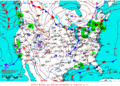 2013-01-06 Surface Weather Map NOAA.png