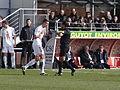 2013-03-03 Match Brest-OL - Said Ennjimi + Florian Lejeune.JPG
