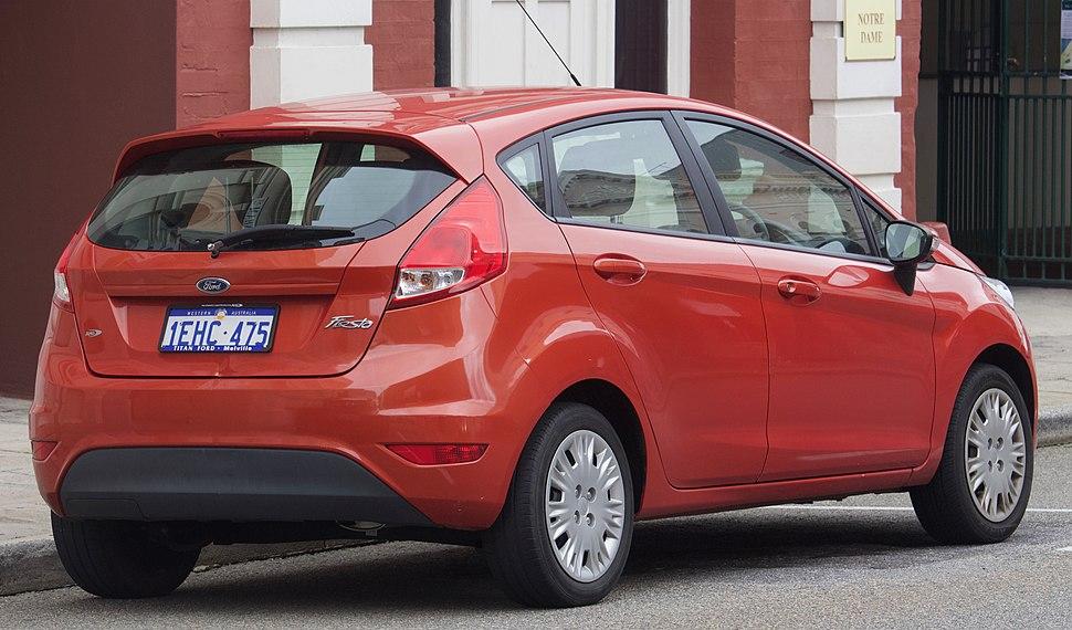 2013 Ford Fiesta (WZ) Ambiente 5-door hatchback (2018-08-06) 02