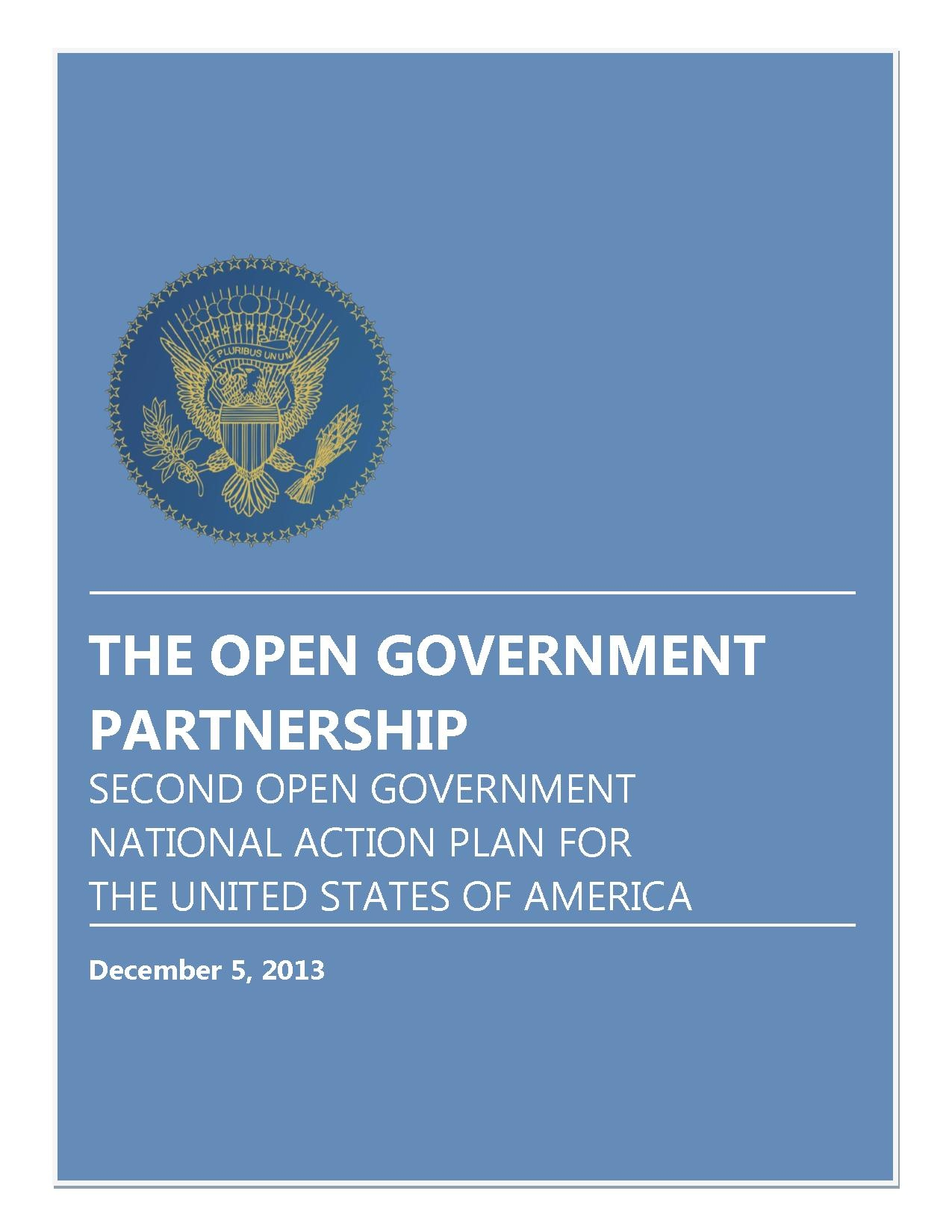 2013 The Open Government Partnership