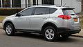 2013 Toyota RAV4 XLE AWD rear left.jpg