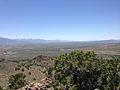 "2014-06-13 12 33 03 View south from the summit of ""E"" Mountain in the Elko Hills of Nevada.JPG"
