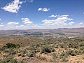 "2014-06-13 12 33 15 View northwest from the summit of ""E"" Mountain in the Elko Hills of Nevada.JPG"
