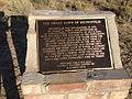 """2014-09-14 17 18 35 """"The Ghost Town of Metropolis"""" historical marker in Metropolis, Nevada.JPG"""