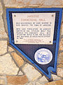 2014-09-25 13 25 17 Historic marker for the Jarbidge Commercial Hall in Jarbidge, Nevada.jpg