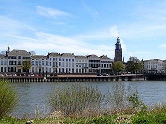 Zutphen - The IJssel river in Zutphen