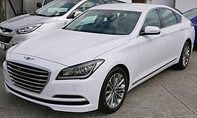 Wonderful 2014 Hyundai Genesis (DH MY15) Sedan (2015 10 10) 01