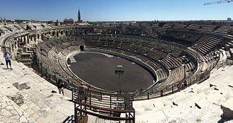 Nîmes - Arena Interior.