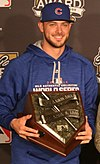 2016-10-26 Kris Bryant receives Hank Aaron Award (cropped).jpg