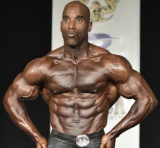 Darrem Charles Trinidad and Tobago bodybuilder