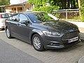 2017-08-26 (008) Ford Mondeo Mk V in Voglgasse, Vienna.jpg
