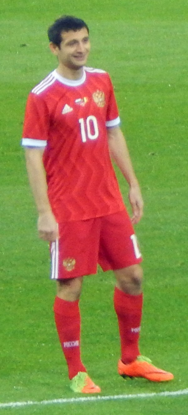 2017 RUS v BEL exhibition - Alan Dzagoev