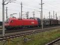 2018-01-15 (102) ÖBB 1116 124-9 with freight wagons at Bahnhof St. Valentin.jpg