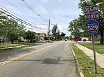 2018-05-20 15 40 12 View north along Middlesex County Route 529 (Plainfield Avenue) just north of Middlesex County Route 514 (Woodbridge Avenue) in Edison Township, Middlesex County, New Jersey.jpg